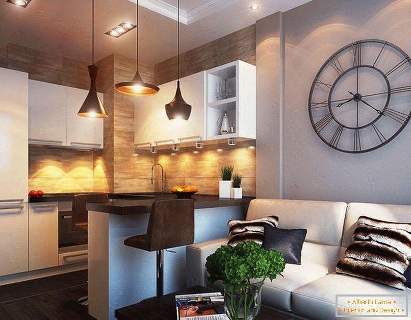 30 Beispiele Von Küche Wohnzimmer Für 20 Quadratmeter Meter