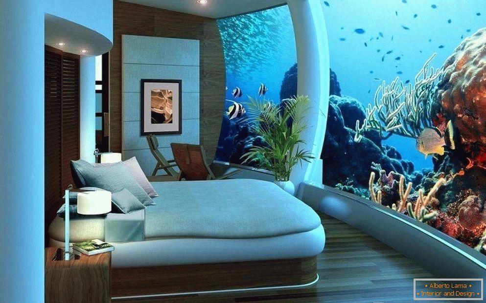 Aquarium im innenraum - ideen und unterkunftsmöglichkeiten