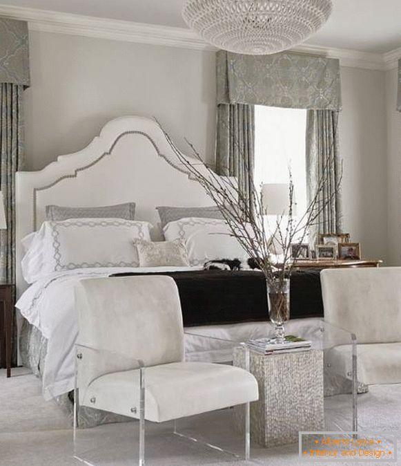 Weißes schlafzimmer - der magische charme der klassiker