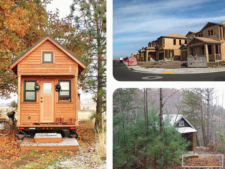 Was können kleine häuser modernen architekten beibringen?