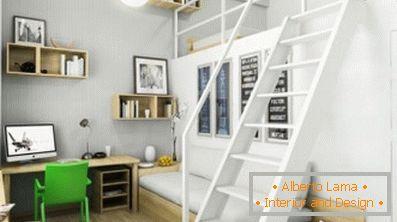 Kinderzimmer im stil des minimalismus (40 kreative lösungen)