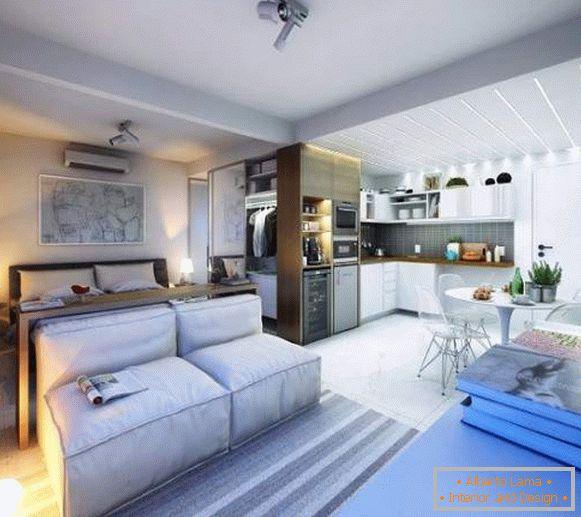Design Studio Apartments 25m 40 Qm M Moderne Ideen Mit 35