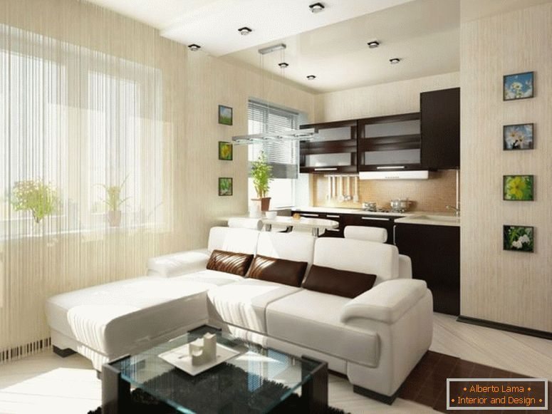 Ein Zimmer Wohnung Design 175 Fotos Der Besten Innenräume