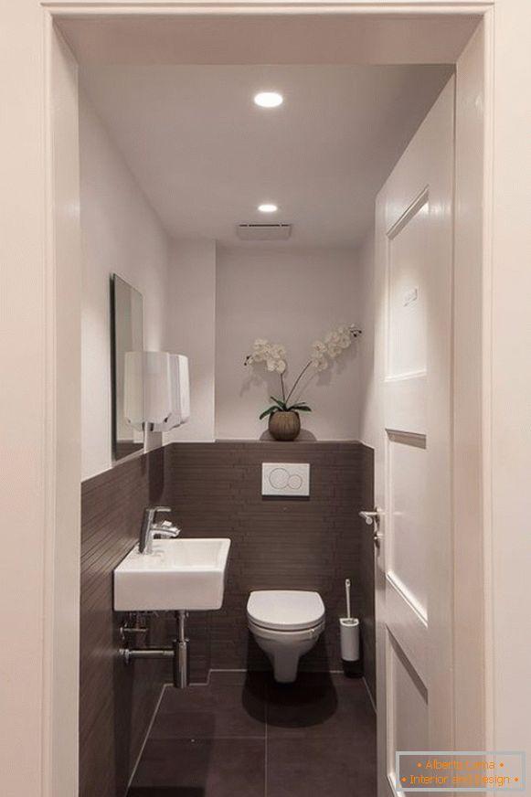 Design von fliesen in der toilette - 45 fotos mit schönem