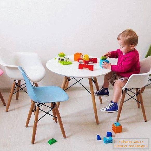 Design Stühle Eames Im Innenraum 32 Fotos Von