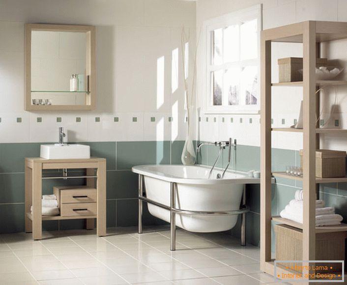Spektakuläres badezimmer im jugendstil (60 moderne