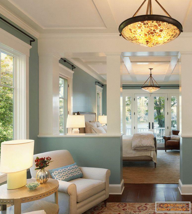 Wohnzimmer im amerikanischen stil - 70 fotos der besten