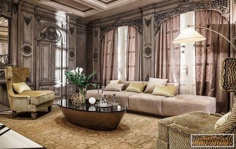 Wohnzimmer im stil von art deco - 75 fotos von ideen des