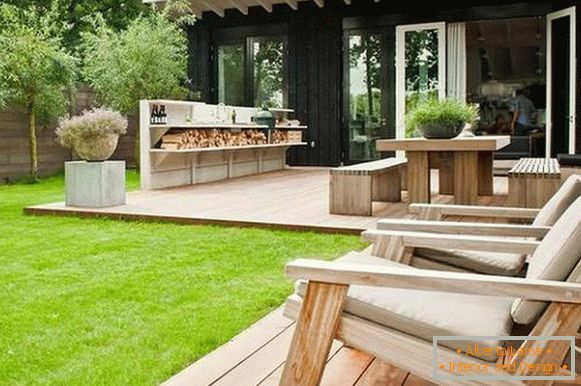 Sommerküche : Sommerküche cookout blank außenküchen outdoor küchen garten