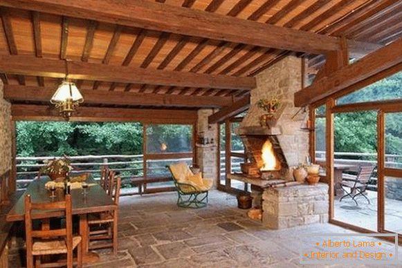 Sommerküche Design : Sommerküche mit einer veranda sorten und tipps zur