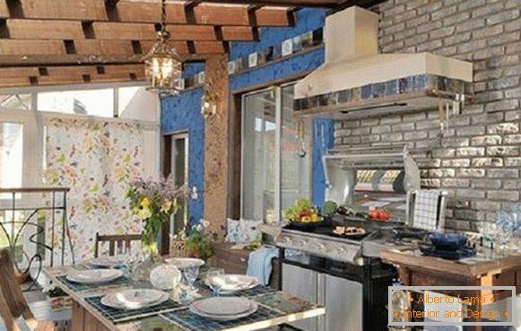 Sommerküche Living At Home : Sommerküche mit einer veranda sorten und tipps zur