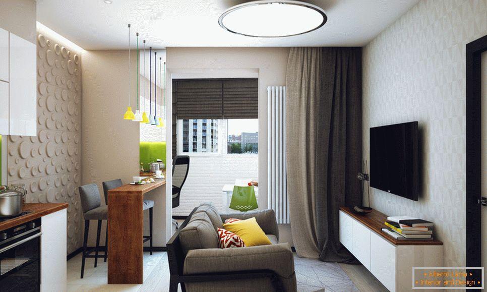 Novosibirsk Beitrag Zur Modernen Gestaltung Kleiner Räume