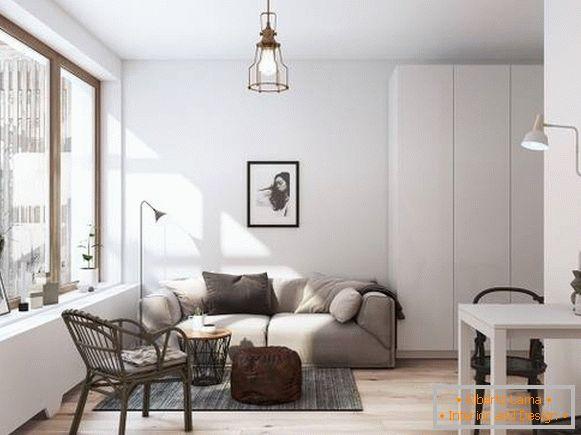 Skandinavischer stil im inneren der wohnung - ein foto von