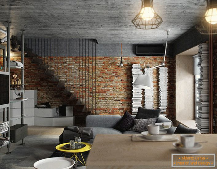 Moderne wohnung im loft-stil (58 kreative fotos)