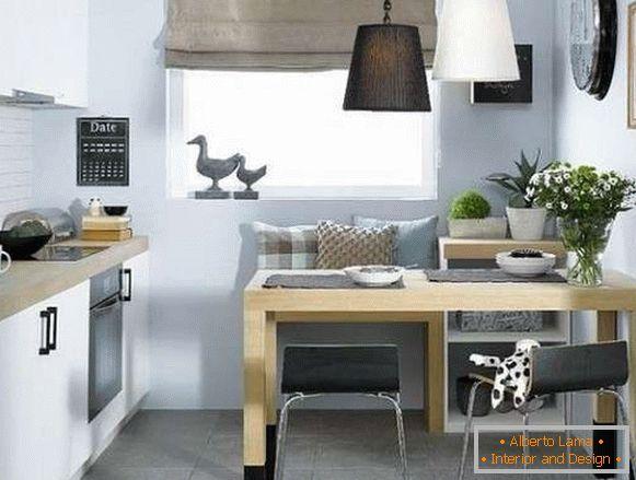 Moderne kleine küchen - 70 fotos mit ideen, wie man sie