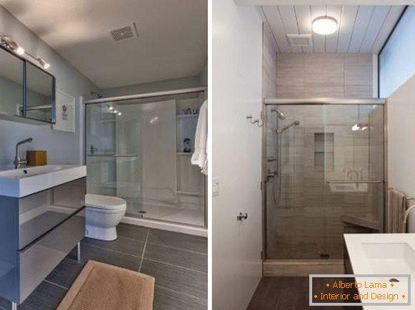 Modernes design des badezimmers - ideen und fotos 2016