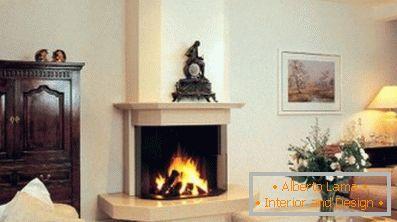 Moderner Kamin Im Inneren Des Wohnzimmers 58 Design Ideen