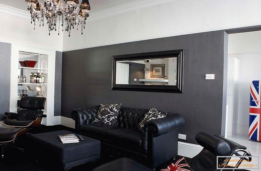 8262ff0ea3661f Dunkle möbel im innenraum +30 foto-design-beispiele
