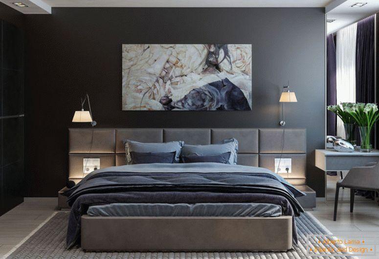 Dunkles Schlafzimmer Foto Von Interessanten