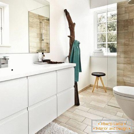 Badezimmer im skandinavischen stil: einrichtungsideen