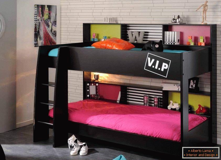 Etagenbett Für Zwei Kinder : Kinderzimmer in hellen farben mit natürlichen materialien gemacht